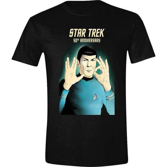 T-Shirt - Star Trek - 50Th Anniversa