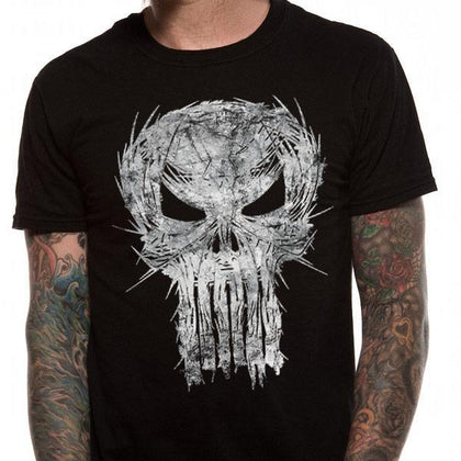 T-Shirt - Punisher - Shatter Skull