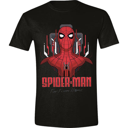 T-Shirt - Spider-Man - Far From Home - Tech Focus Black