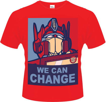 T-Shirt - Transformers - We Can Change