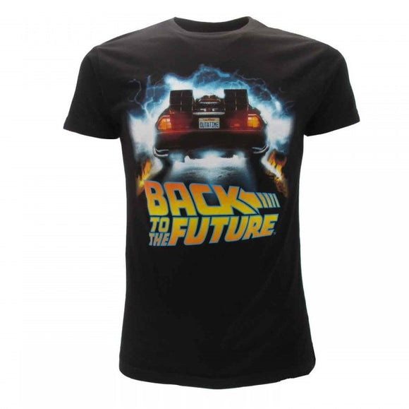 T-Shirt - Back To The Future - Logo 2
