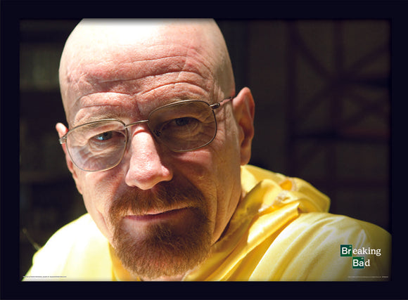 Quadro - Stampa In Cornice - Breaking Bad - Walter Closeup
