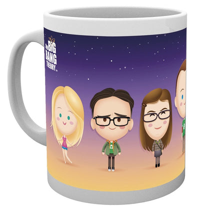 Tazza - Big Bang Theory - Characters
