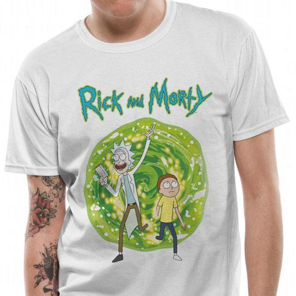 T-Shirt - Rick & Morty - Portal Front