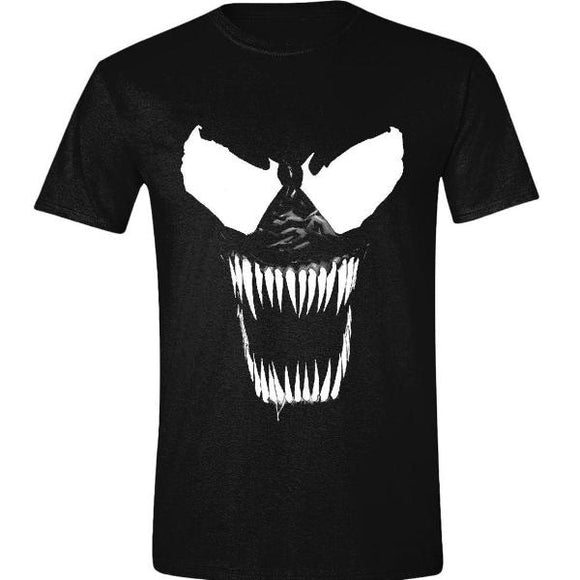 T-Shirt - Spiderman - Venom - Bare Teeth Black