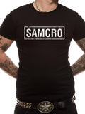 T-Shirt - Sons Of Anarchy - Samcro Banner