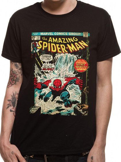 T-Shirt - Spiderman - Comic Cover