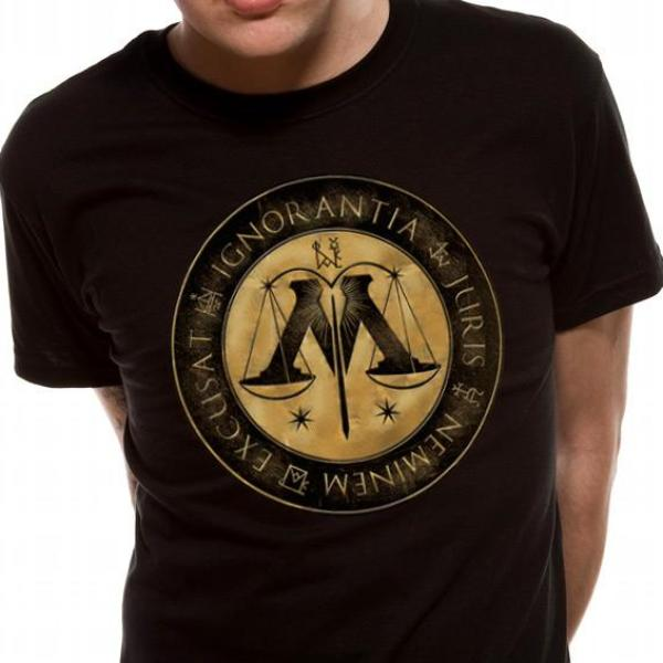 T-Shirt - Harry Potter - Ministry Crest