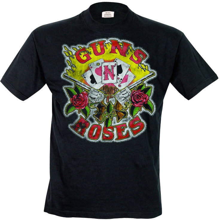 T-Shirt - Guns N' Roses - Cards