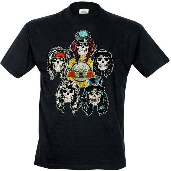 T-Shirt - Guns N' Roses - Vintage Heads