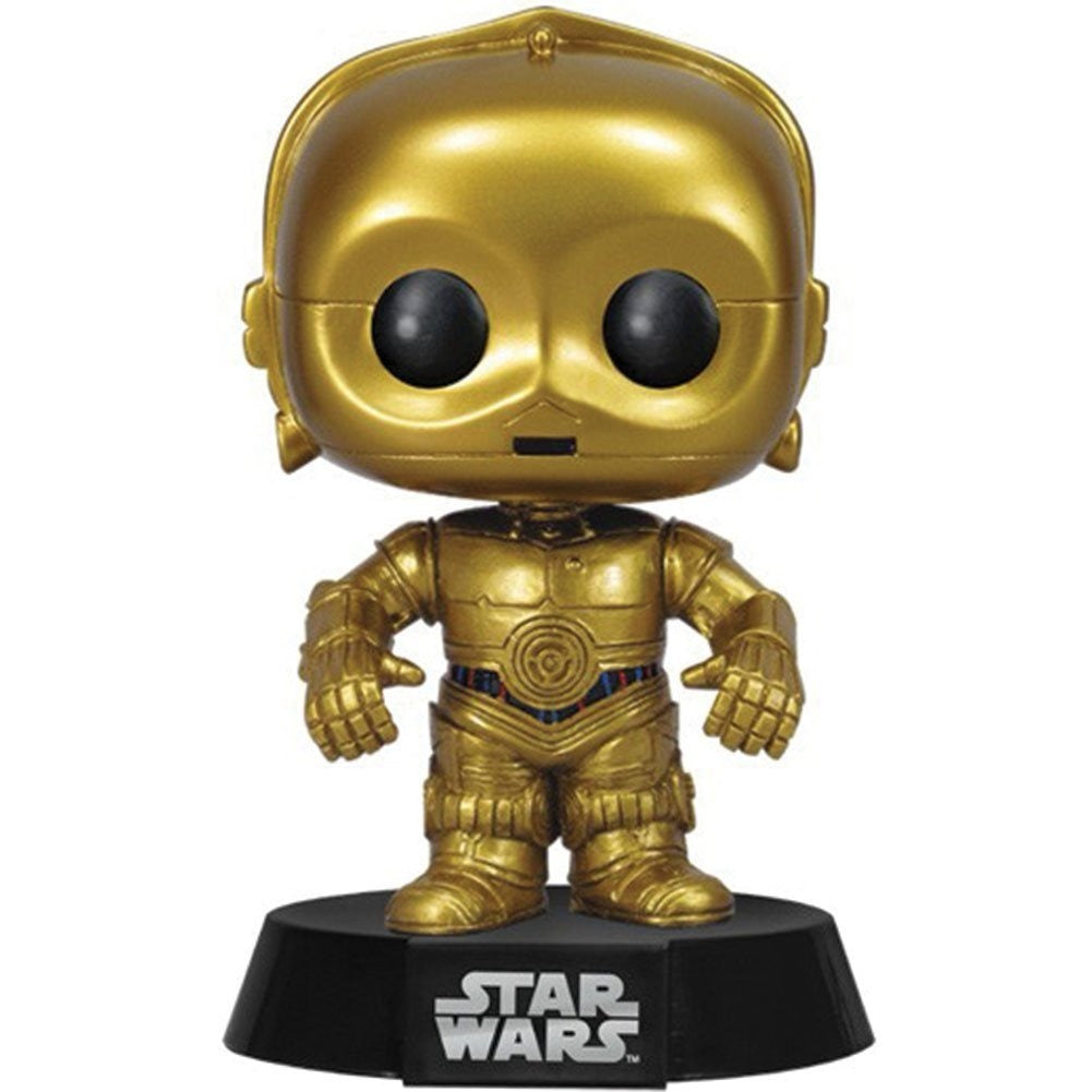 Funko POP - Star Wars - C-3PO (Bobble-Head)