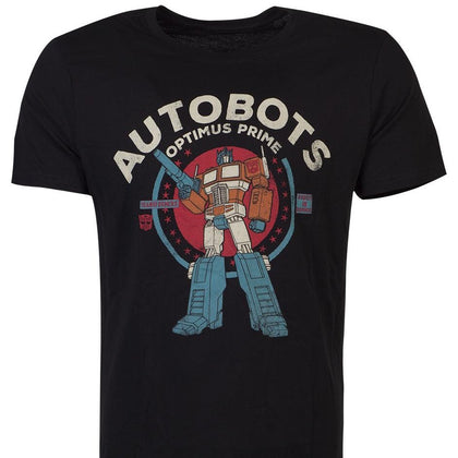 T-Shirt - Hasbro - Transformers - Optimus Prime Black