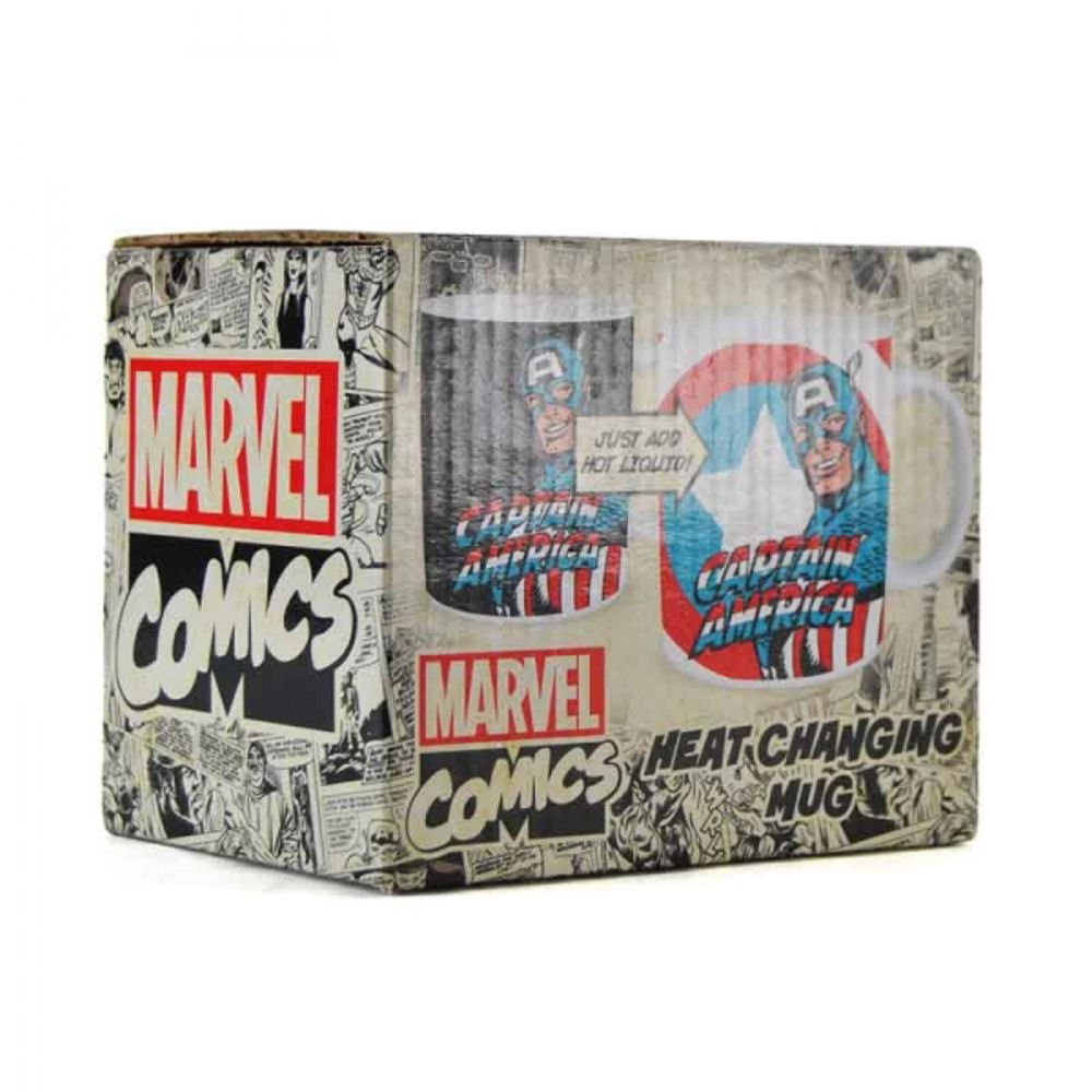 Tazza Termosensibile - Marvel - Captain America
