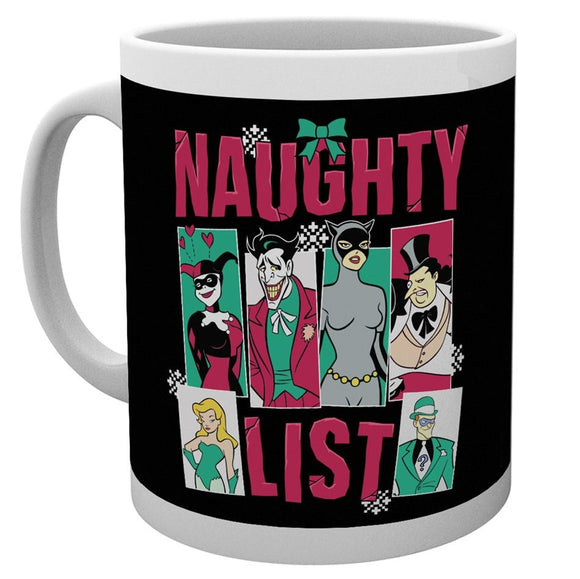 Tazza - Dc Comics - Batman Comics - Naughty List