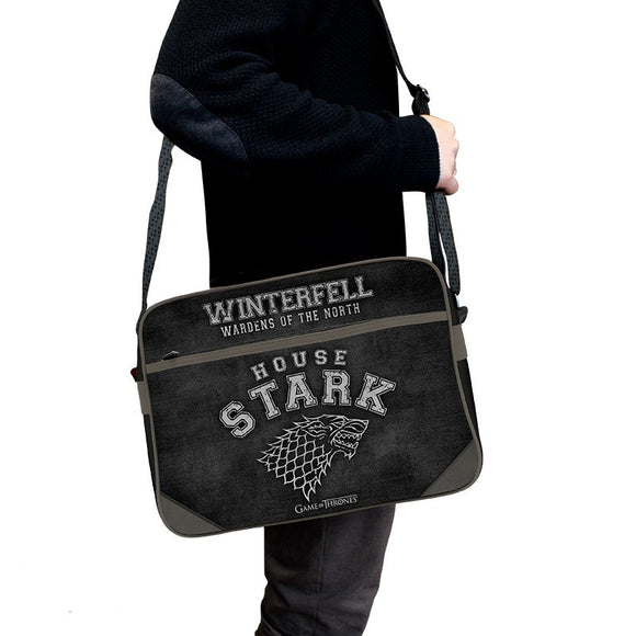 Borsa A Tracolla - Game Of Thrones - Full Print House Stark