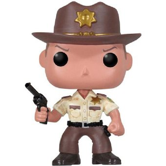 FUNKO POP - THE WALKING DEAD - 13 RICK GRIMES 9CM