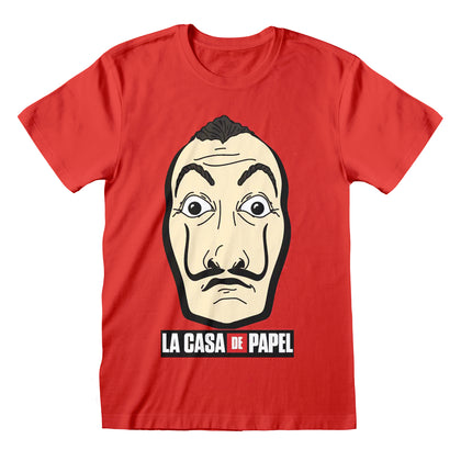 T-Shirt - La Casa De Papel - Mask And Logo