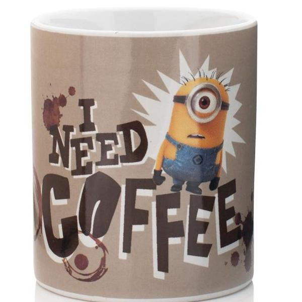 Tazza - Minions - I Need Coffee