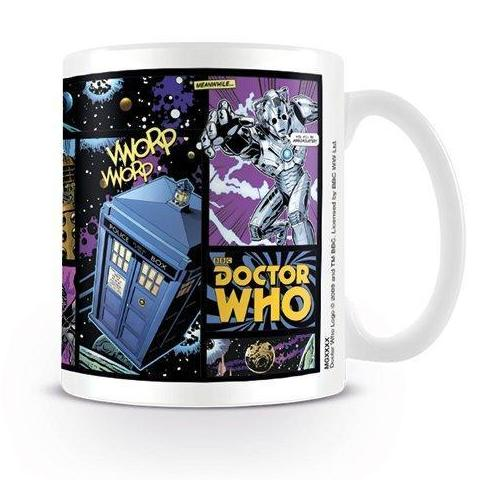 Tazza - Doctor Who - Comic Strip
