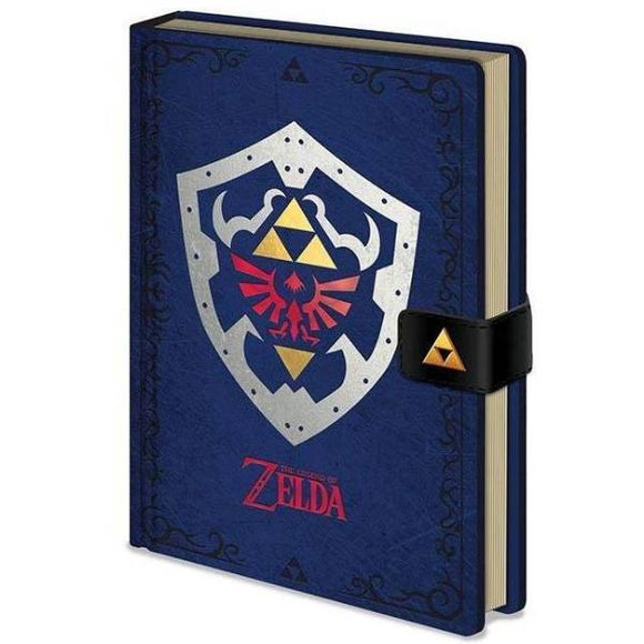 Quaderno - Nintendo - Legend Of Zelda - Hylian Shield (A5)
