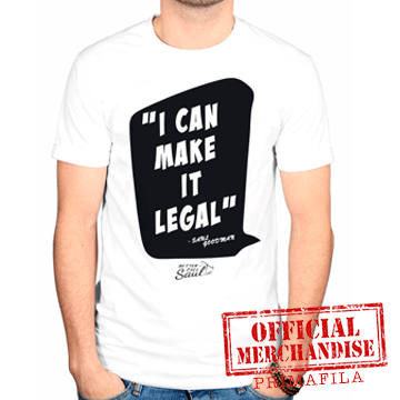 T-Shirt - Better Call Saul - I Can Make It Legal