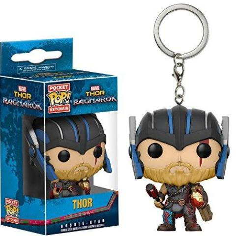 Portachiavi - FUNKO POCKET POP! - MARVEL - THOR RAGNAROCK - THOR HELMETED