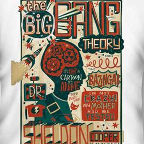 T-Shirt - Big Bang Theory - Sheldon Cooper Quotes
