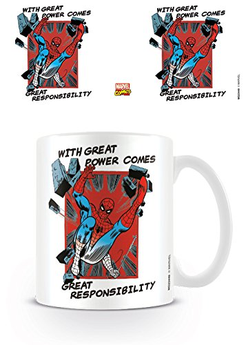 Tazza - Marvel - Great Responsibility - Spider Man