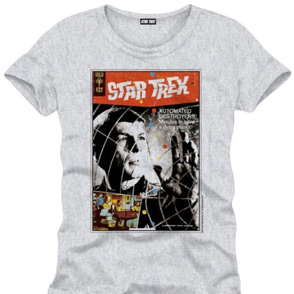 T-Shirt - Star Trek - Poster Grey