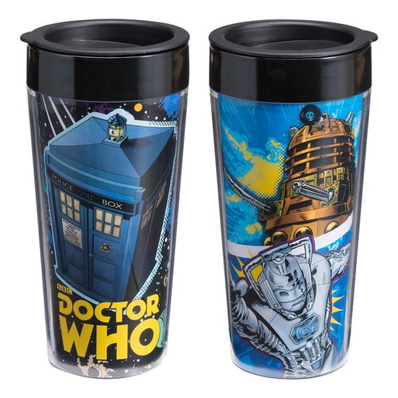 Tazza Da Viaggio - Doctor Who - Plastic Travel Mug