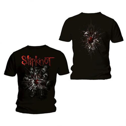 T-Shirt - Slipknot - Back Print Shattered Black
