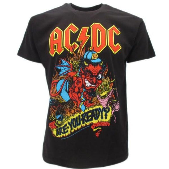 T-Shirt - Ac/Dc - Are You Ready