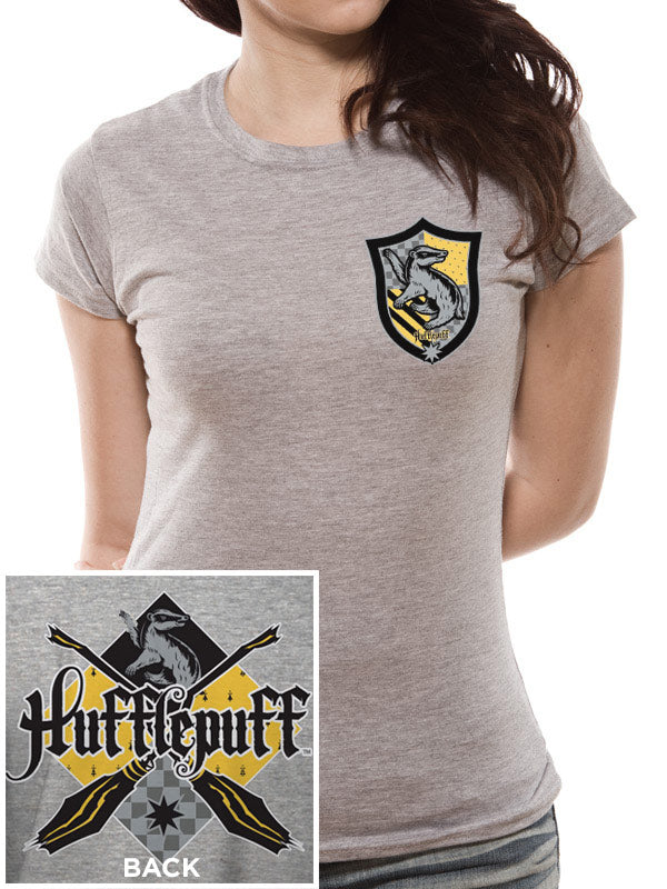 T-Shirt - Harry Potter - House Hufflepuff (Donna)