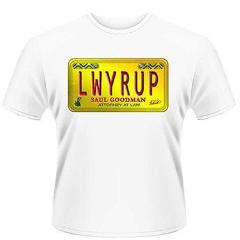 T-Shirt - Better Call Saul - Number Plate