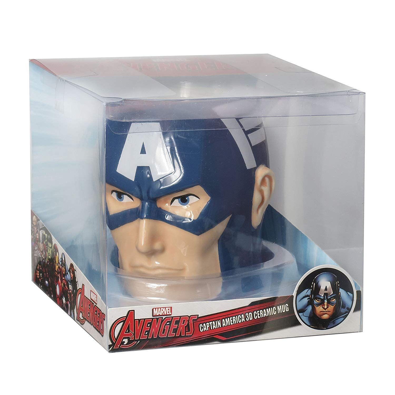 Tazza Sagomata - Marvel - (3D) Captain America