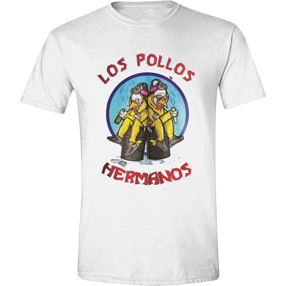 T-Shirt - Breaking Bad - Los Pollos Cooks White
