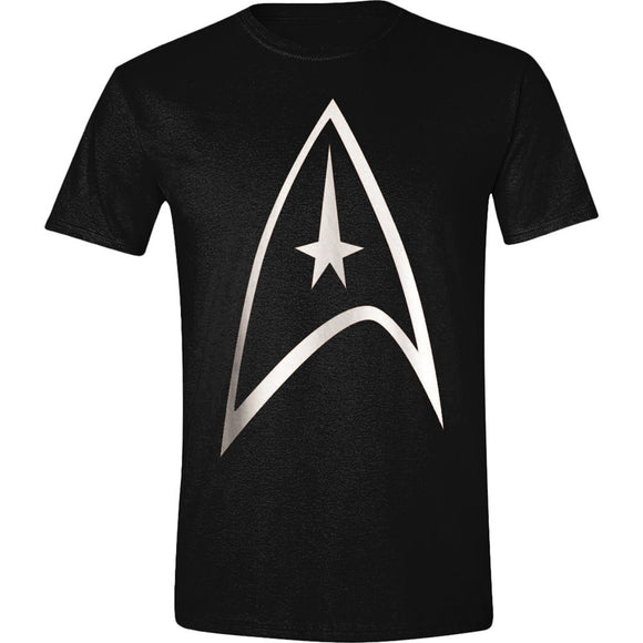 T-Shirt - Star Trek - Command Logo Black