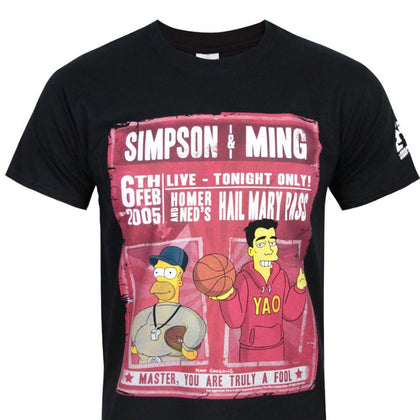 T-Shirt - Simpsons - Simpson & Ming Truly A Fool
