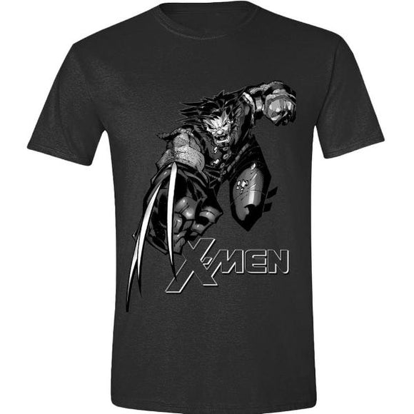T-Shirt - Wolverine - Fight With Logo