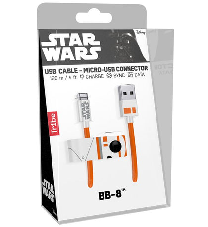 Cavo USB - Tribe - Star Wars - BB8 (Android)