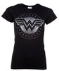 T-Shirt - Wonder Woman - Chrome Logo