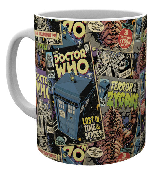 Tazza - Doctor Who - Comic Books
