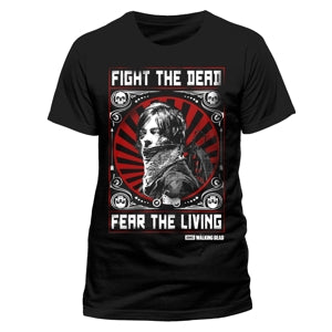T-Shirt - Walking Dead - Fight The Dead