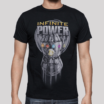T-Shirt - Marvel - Avengers Infinity War - Infinite Power Glove
