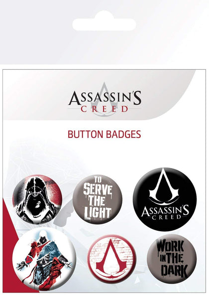 Spille - Badge - Assassin's Creed - Mix