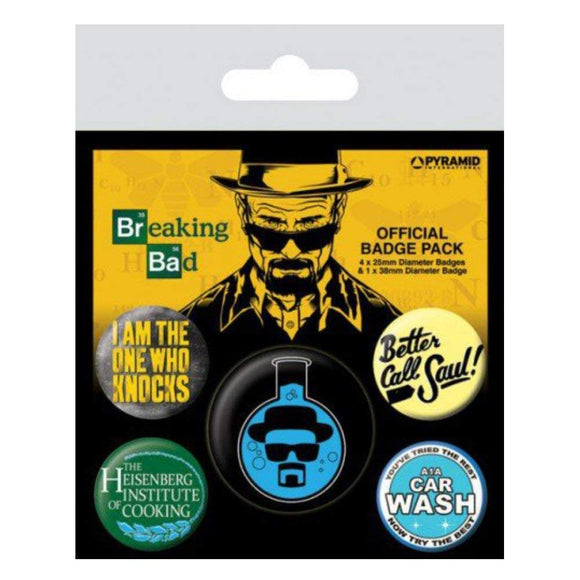 Badge - Breaking Bad - Heisenberg Flask