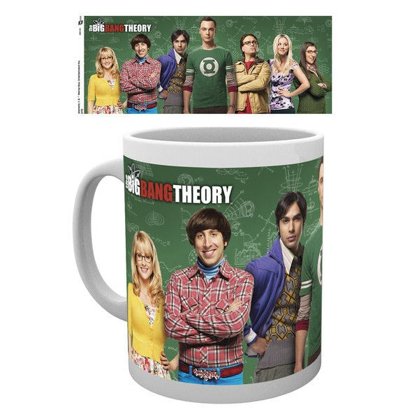 Tazza - Big Bang Theory - Cast