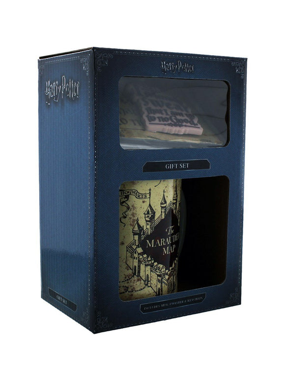 Gift Box - Harry Potter - Mappa del Malandrino