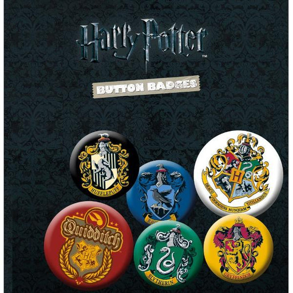 Badge - Harry Potter - Crests