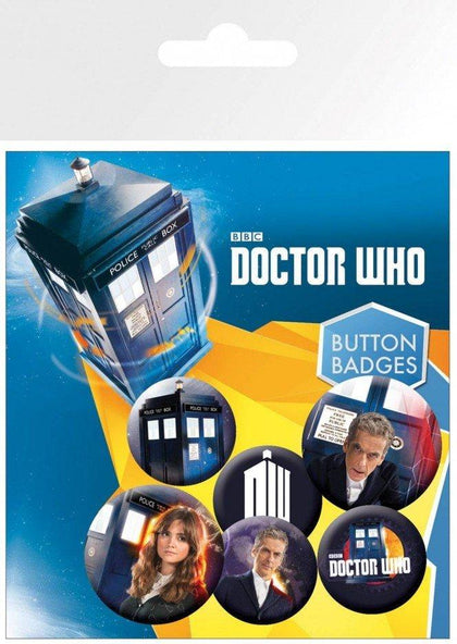 Spille - Badge - Doctor Who - New